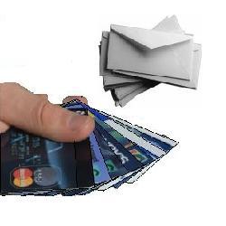 пришла кредитная карта по почте